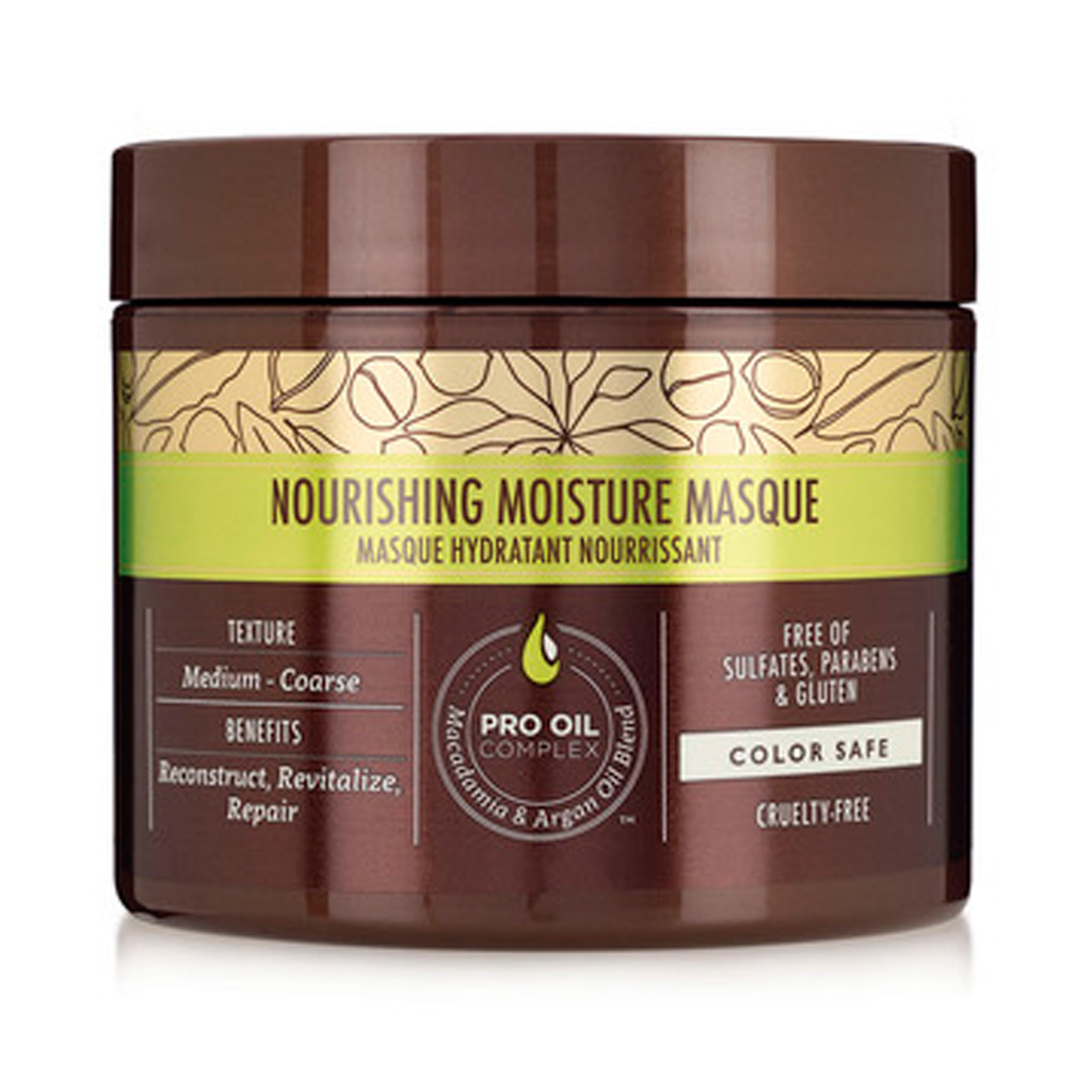 macadamia masque hydratant nourrissant 15 masques pour redonner vie aux cheveux secs elle. Black Bedroom Furniture Sets. Home Design Ideas