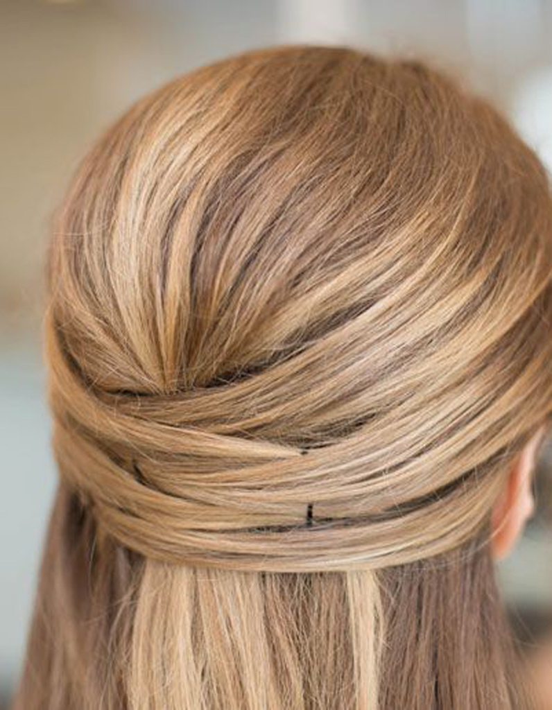 La couronne de cheveux - 20 coiffures u00e0 faire entre deux shampoings - Elle
