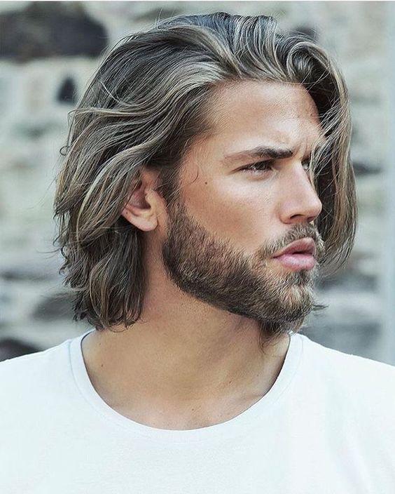 Coiffure pour homme cheveux mi longs printemps,été 2017 , Ces coupes de  cheveux pour hommes qui nous séduisent , Elle