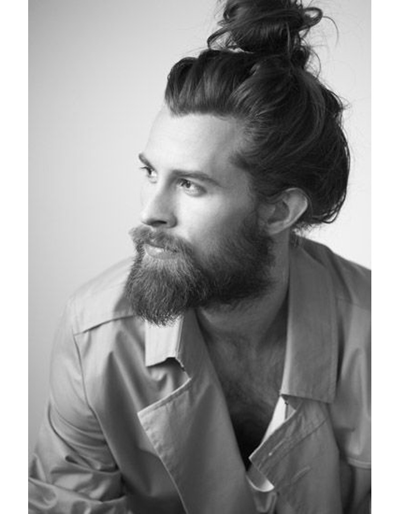 Idee coupe homme cheveux long