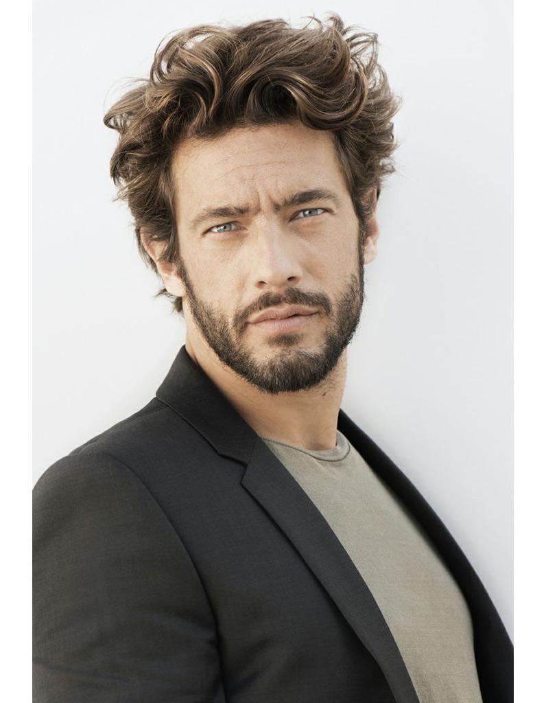 Coupe cheveux mi court homme
