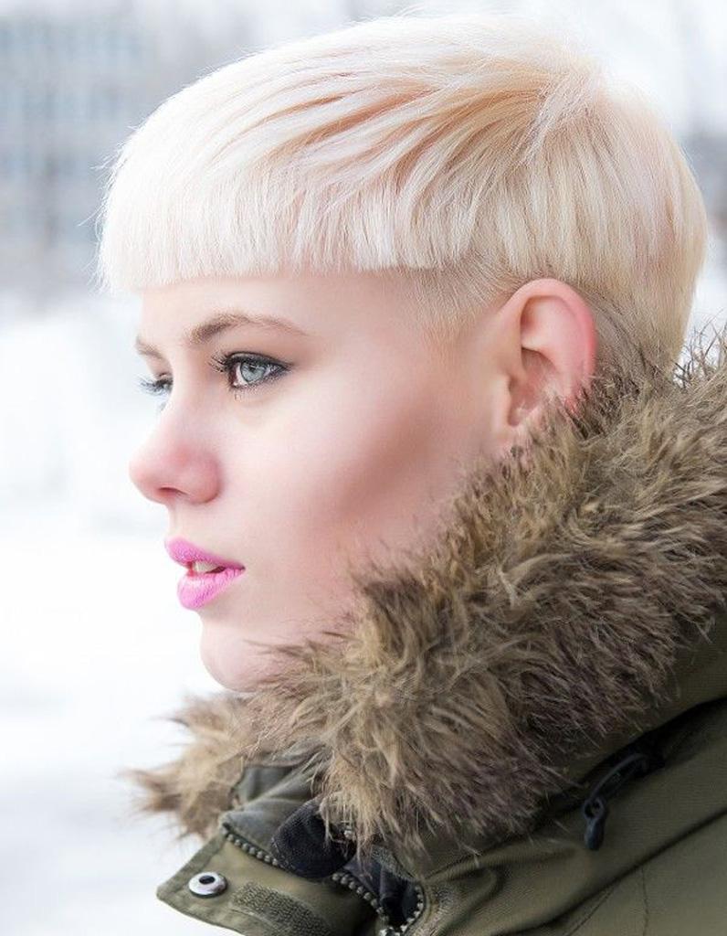 Coupe de cheveux courte femme hiver 2016 les plus belles coupes courtes de 2018 elle - Coiffure coupe courte femme ...