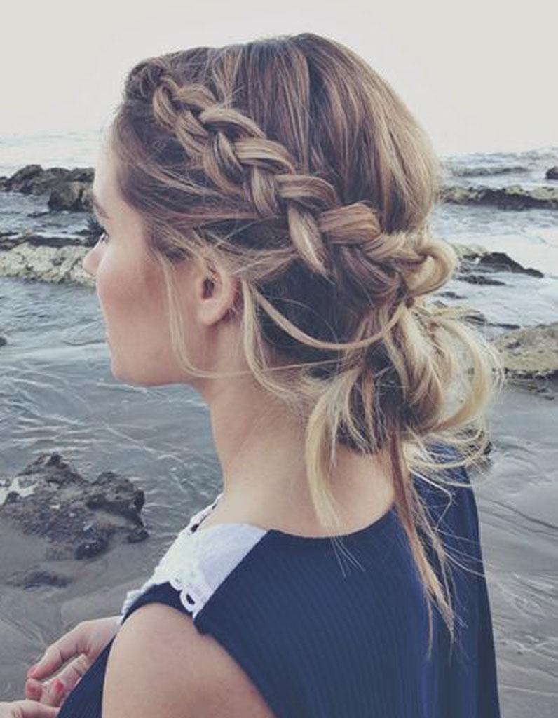 Top Cheveux attachés pour un mariage - Cheveux attachés : 60 idées de  ZX01