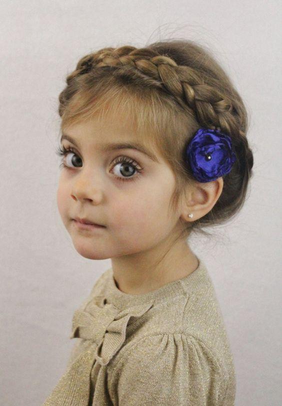 Très Coiffure petite fille 3 ans - 40 coiffures de petite fille qui  NH64