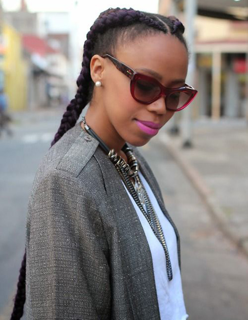 Coiffure pour cheveux afro hiver 2015 - Coiffures afro : les filles stylées donnent le ton - Elle