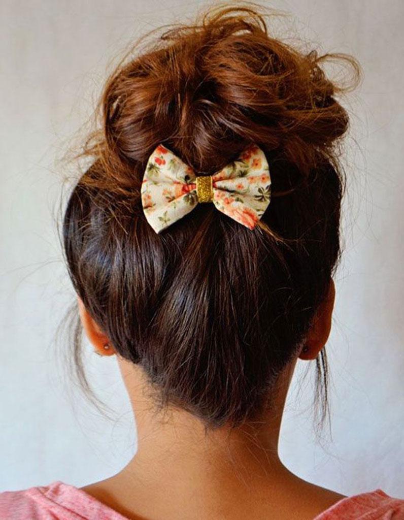 Chignon Coiffé Décoiffé Facile à des idées de coiffures faciles - elle