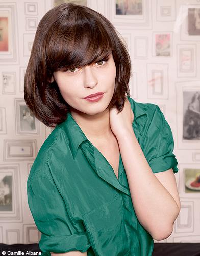 Beaute tendance cheveux coiffure hiver camille alabne 002 - 100 coiffures automne/hiver 2011 ...