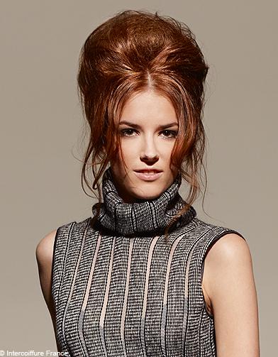 beaute tendance cheveux coiffure intercoiffure france 016 100 coiffures automne hiver 2011. Black Bedroom Furniture Sets. Home Design Ideas