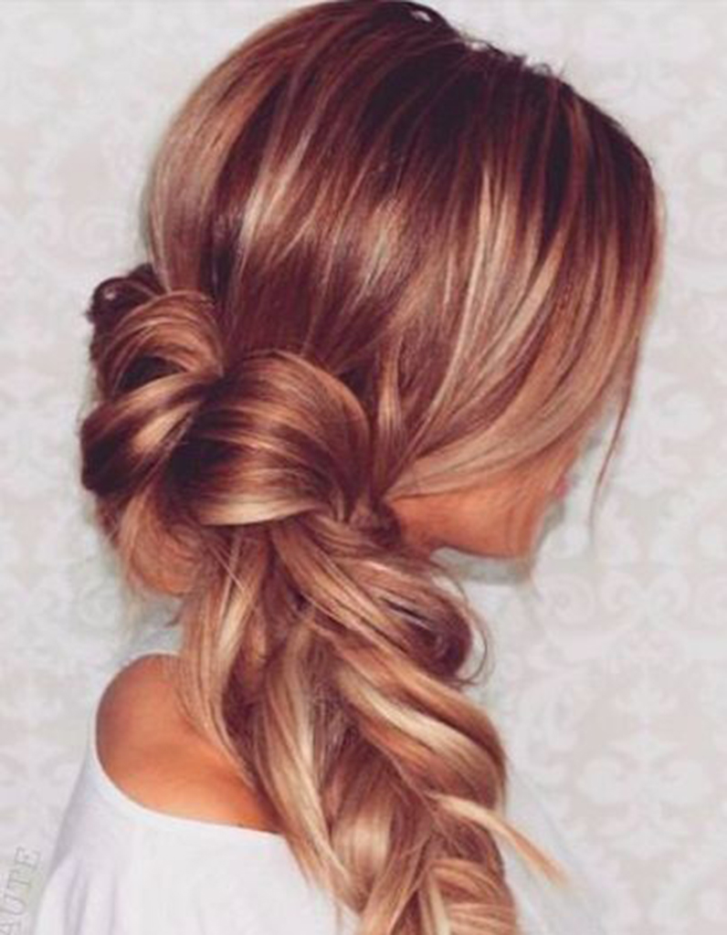 Populaire Balayage cuivré sur cheveux blonds foncés - Balayage cuivré : le  OE09