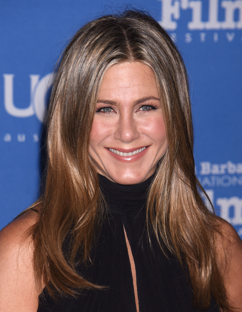 balayage blond jennifer aniston. Black Bedroom Furniture Sets. Home Design Ideas