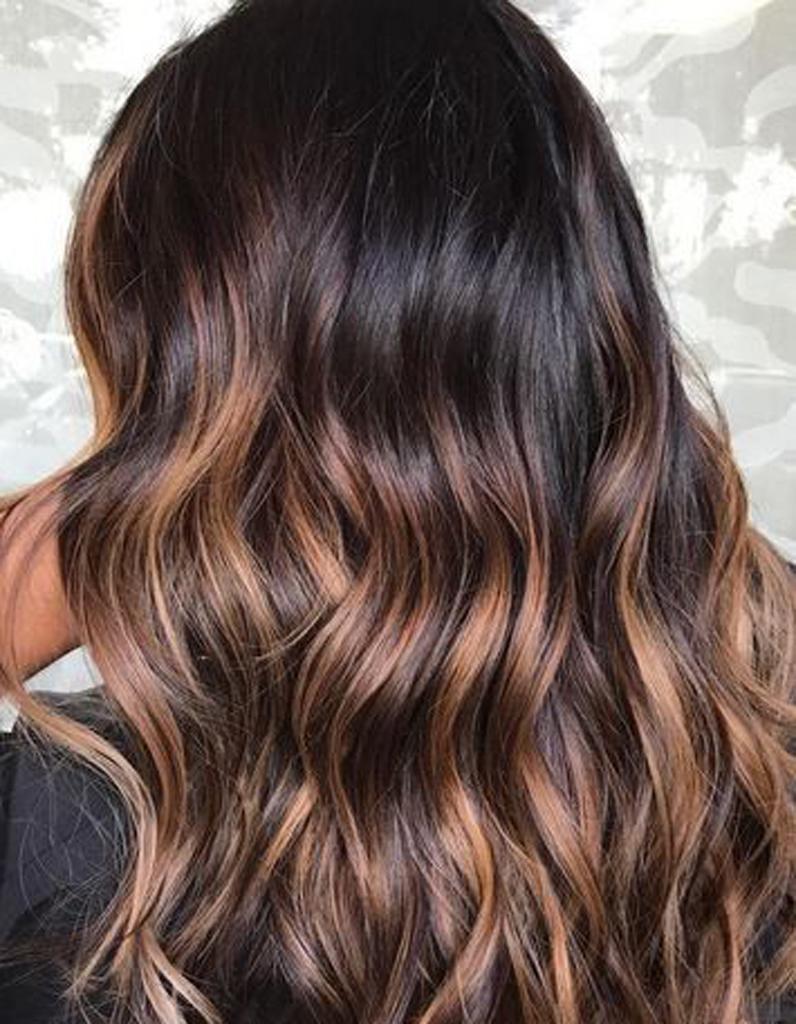 Ombr hair caramel ombr hair les plus beaux d grad s de couleur elle - Ombre hair chatain ...