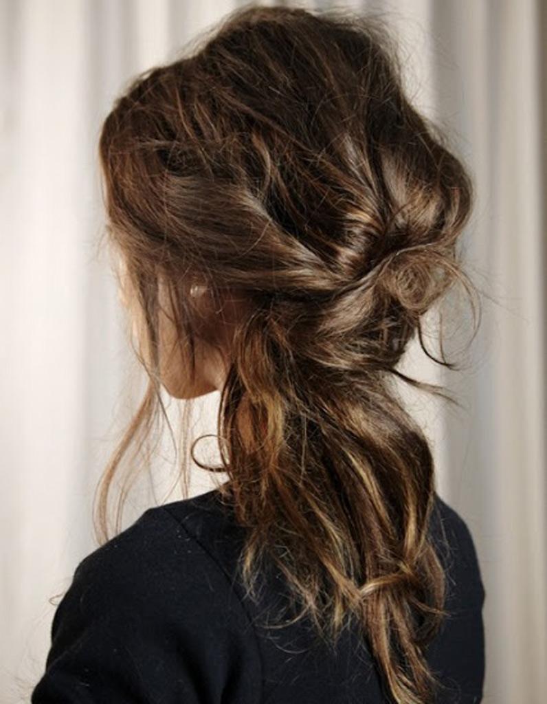 Favori Coiffure cheveux ondulations naturelles automne-hiver 2016  KL75
