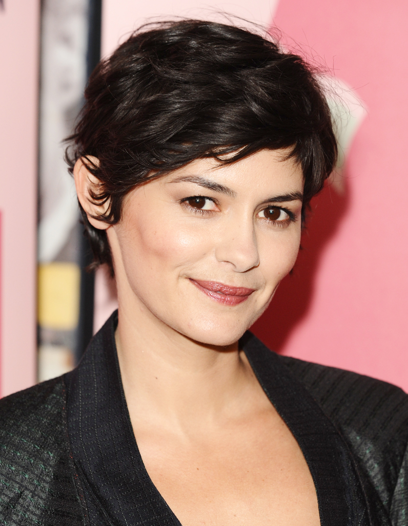 coupe gar onne audrey tautou ses coiffures embl matiques elle. Black Bedroom Furniture Sets. Home Design Ideas
