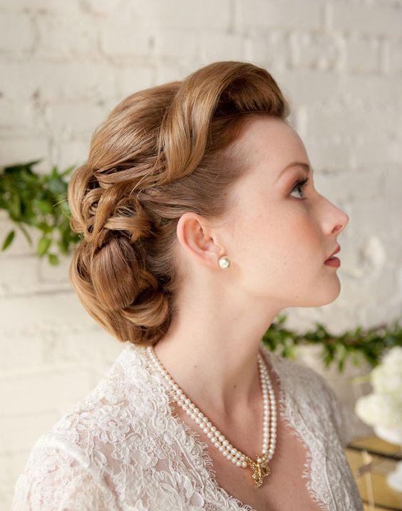 Bien connu Coiffure de mariée vintage - Les plus jolies coiffures de mariée  GW08