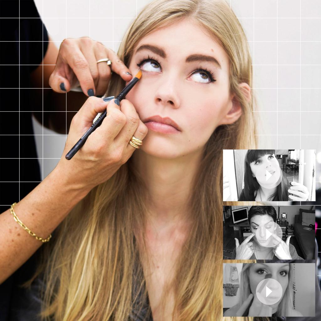tutoriel maquillage anti cerne. Black Bedroom Furniture Sets. Home Design Ideas