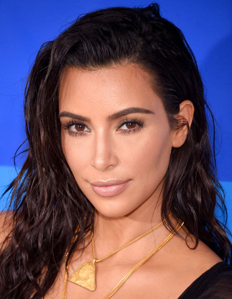 Le maquillage nude de Kim Kardashian