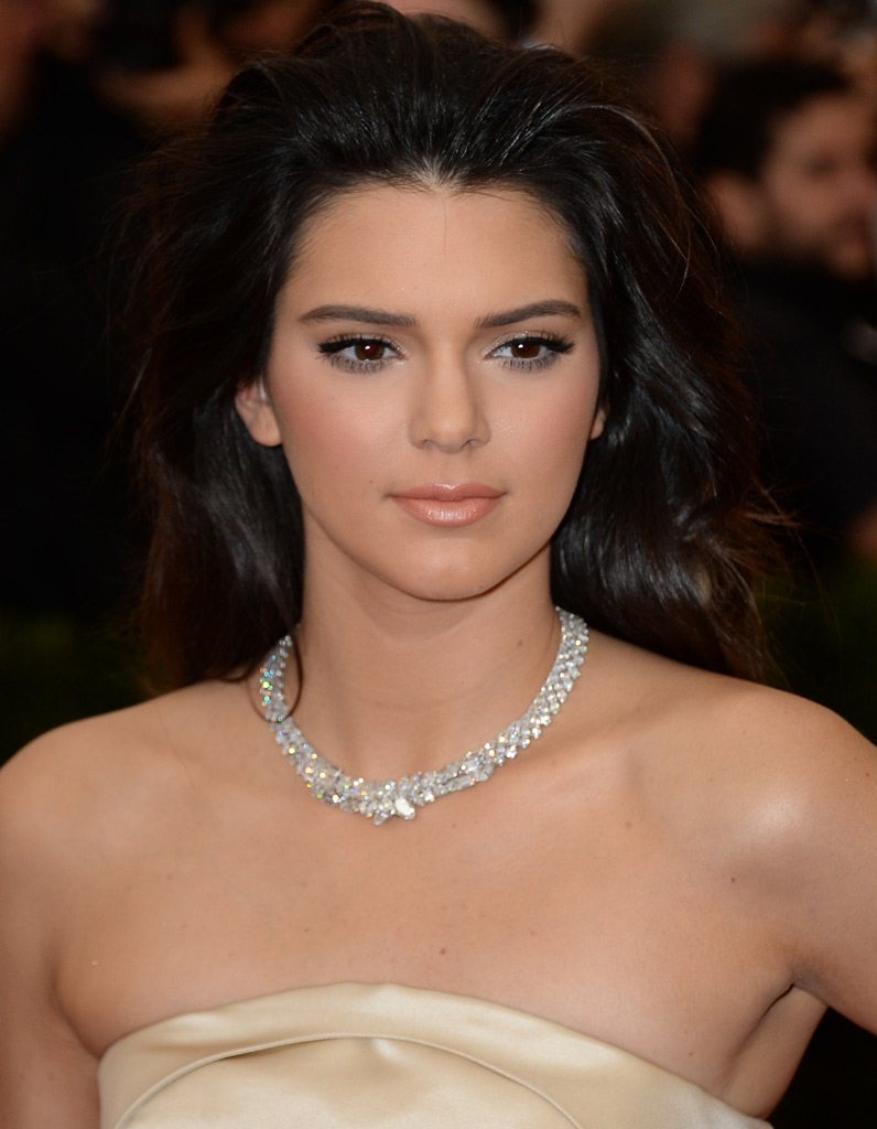 Le maquillage nude de Kendall Jenner
