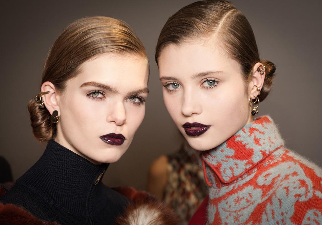 ... du maquillage automne hiver 2016 2017 de Dior par Peter Philips - Elle