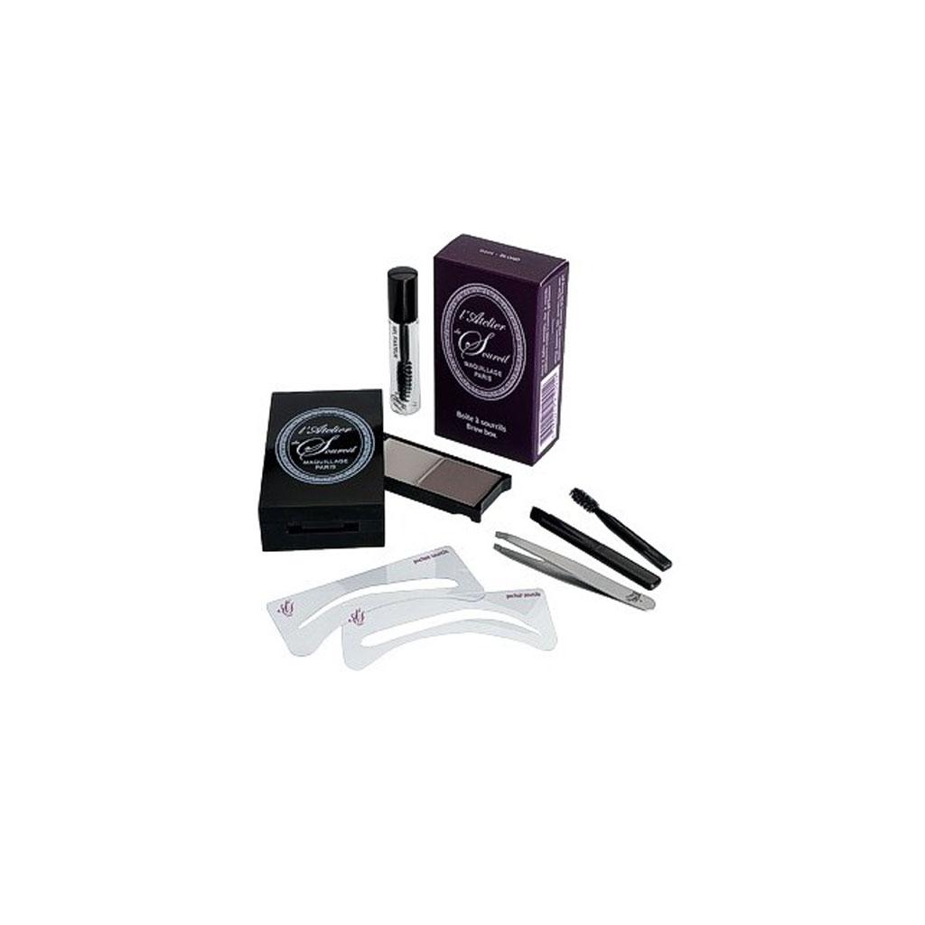 kit sorucils l 39 atelier du sourcil la bo te sourcils 34 25 kits sourcils pour un joli. Black Bedroom Furniture Sets. Home Design Ideas