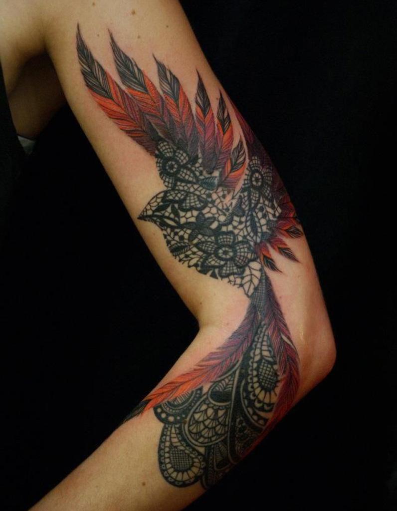 Idée tatouage : un oiseau majestueux - Les 40 plus beaux tatouages de Pinterest - Elle