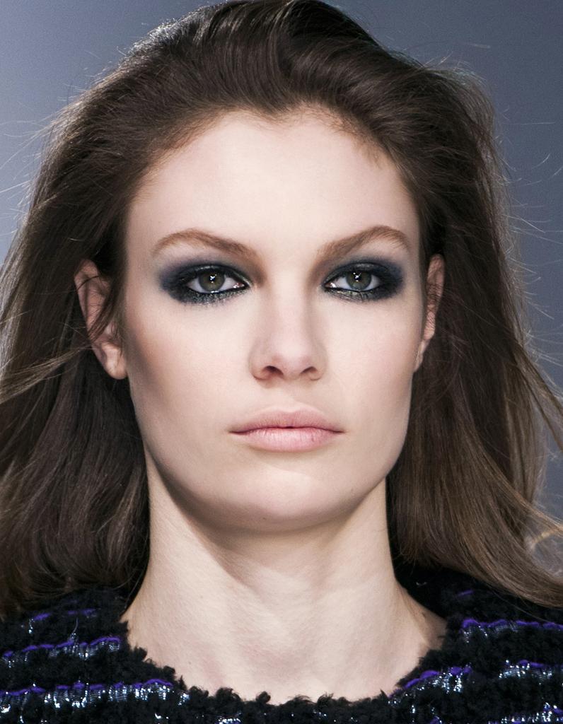 Maquillage r veillon yeux verts 40 id es de maquillage de r veillon pour briller elle - Maquillage nud yeux vert ...