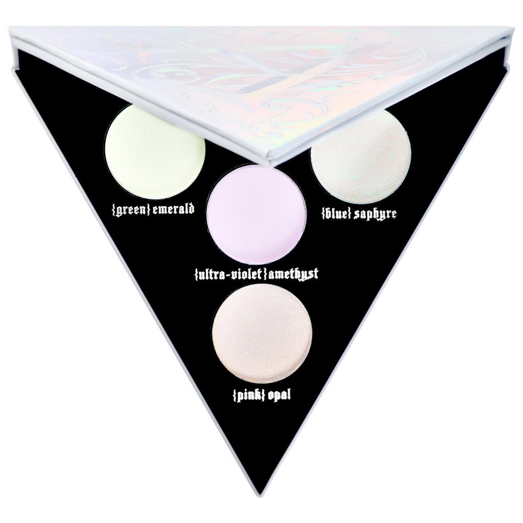 palette alchemist holographic palette kat von d beauty 29 a nous le maquillage vegan. Black Bedroom Furniture Sets. Home Design Ideas