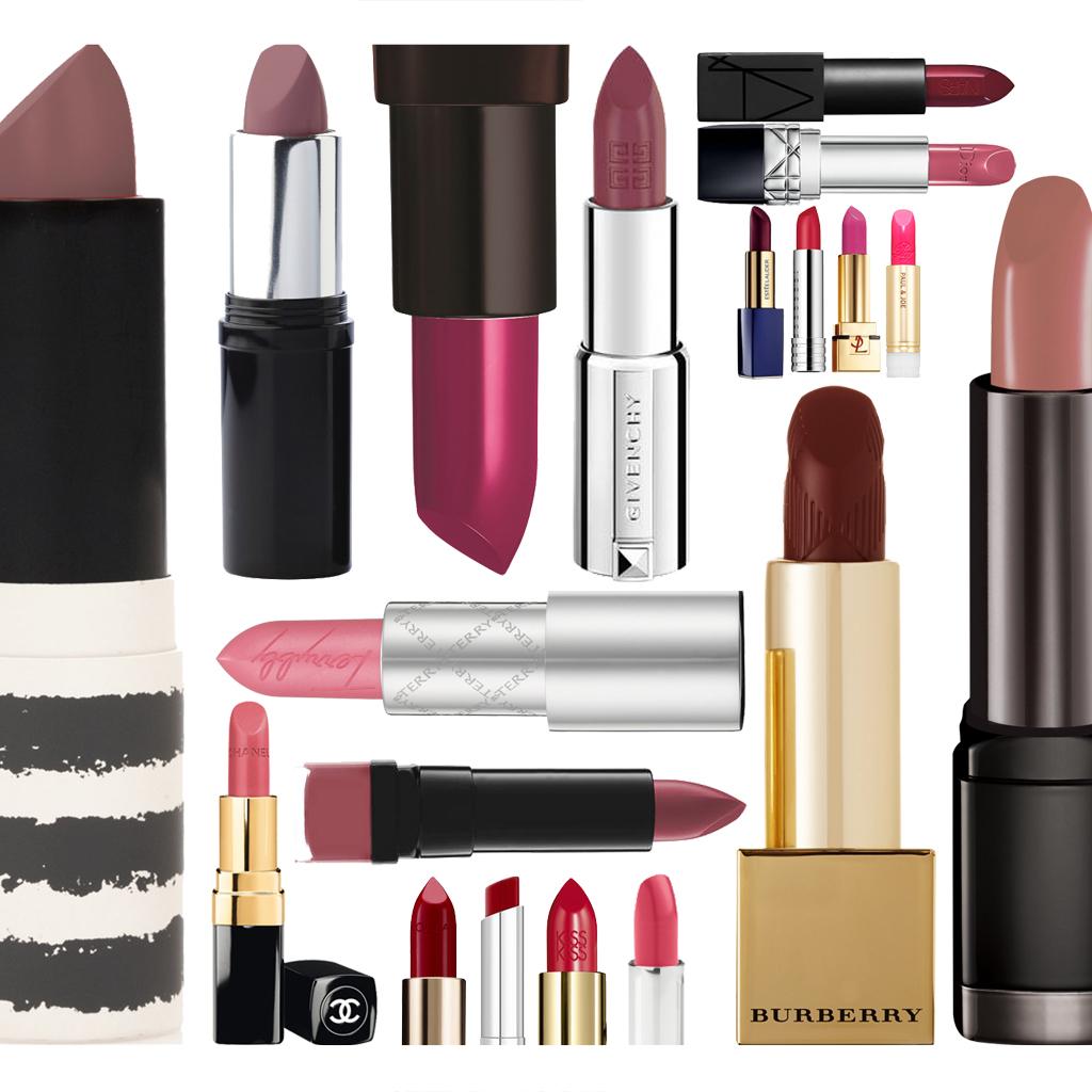 Connu Rouge à lèvres 2016-2017 : 40 rouges à lèvres de saison pour  QS81