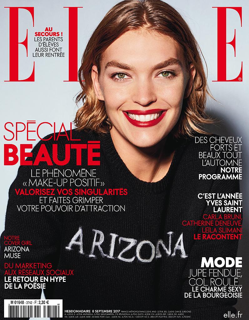 Assez Rayonnante, Arizona Muse est en couverture de ELLE cette semaine  FM67
