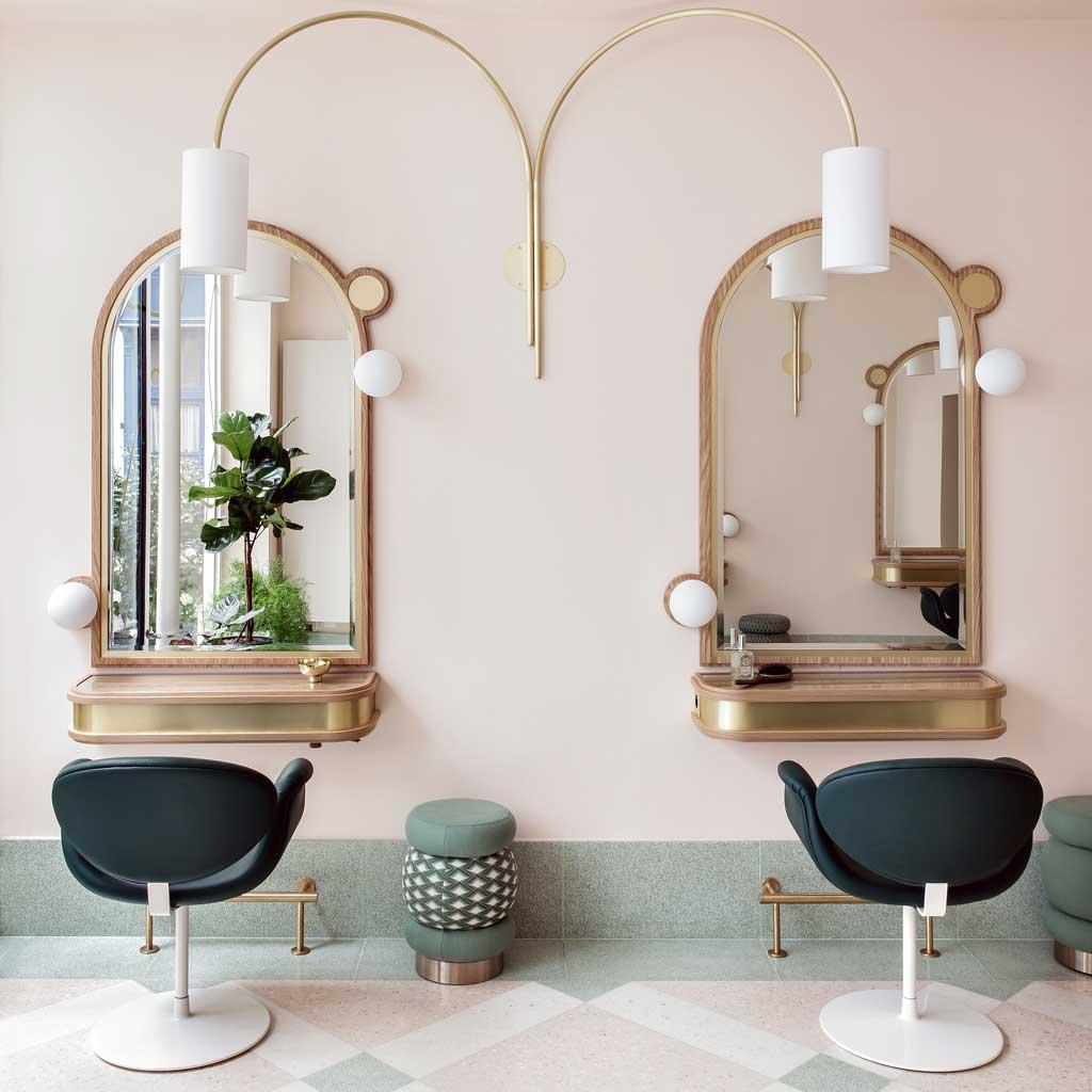 Ellebeautyspot le nouveau salon de coiffure de delphine for Salon de coiffure paris 9