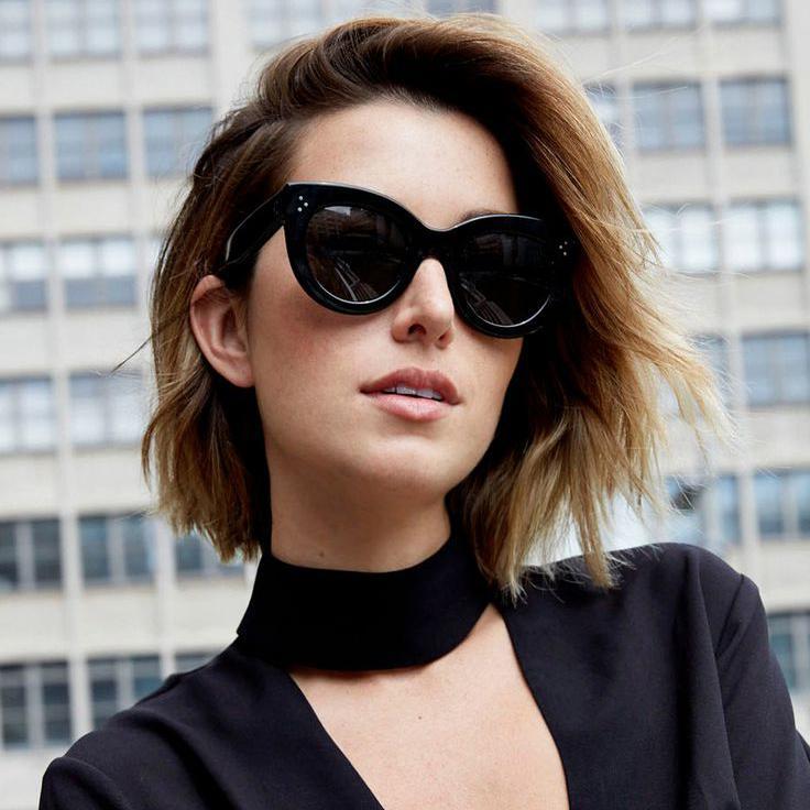coupe de cheveu courte