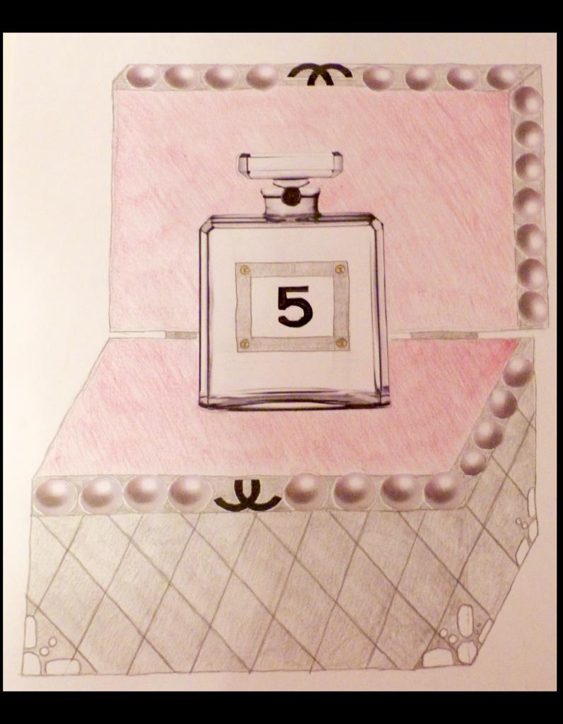 clemence martinez le flacon de chanel n 5 revisit par vous elle. Black Bedroom Furniture Sets. Home Design Ideas