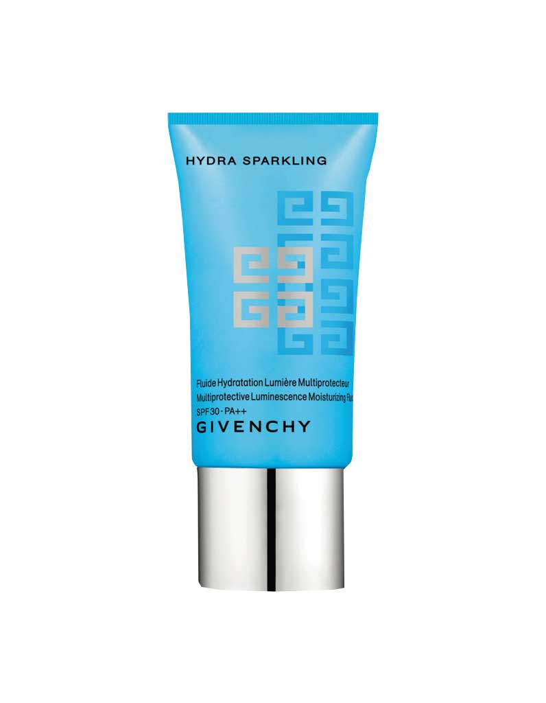 fluide mutliprotecteur spf 30 hydra sparkling givenchy 42 30 la cr me de jour avec. Black Bedroom Furniture Sets. Home Design Ideas