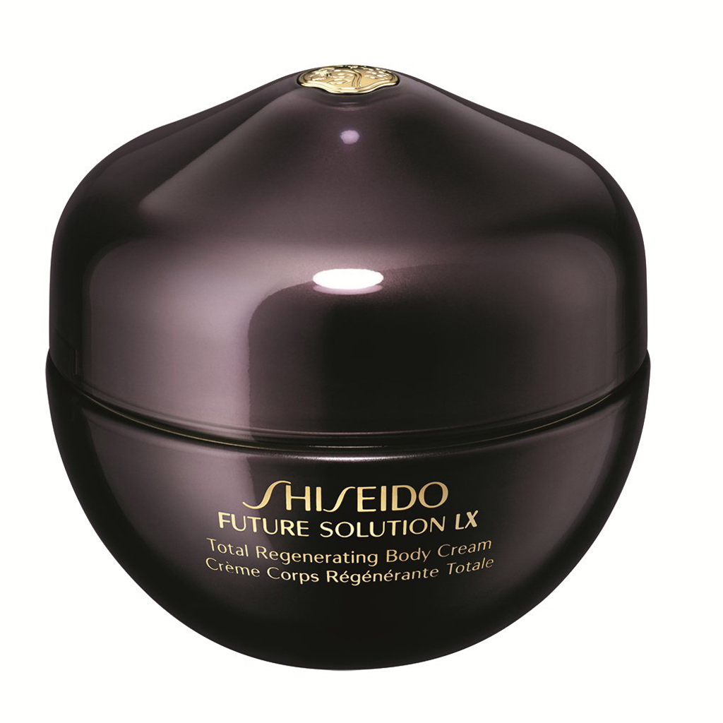 meilleur hydratant corps cr me corps r g n rante totale future solution lx shiseido elle. Black Bedroom Furniture Sets. Home Design Ideas