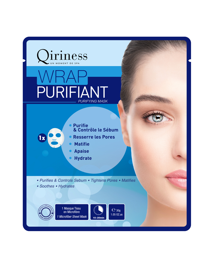 Masque wrap purifiant qiriness 3 90 le masque janvier 2016 chez marionnaud les meilleurs - Masque visage a mettre au frigo ...