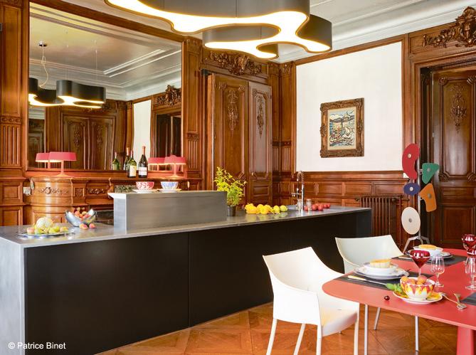 10 cuisines pour recevoir elle d coration for Decoration de cuisine champetre