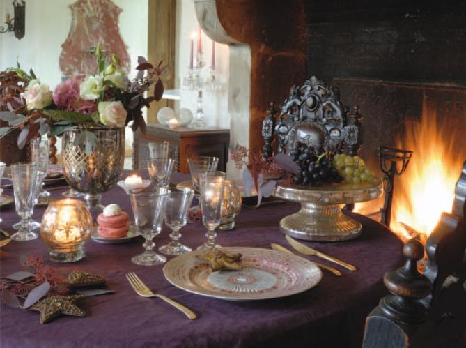 4 d co de table pour no l elle d coration. Black Bedroom Furniture Sets. Home Design Ideas