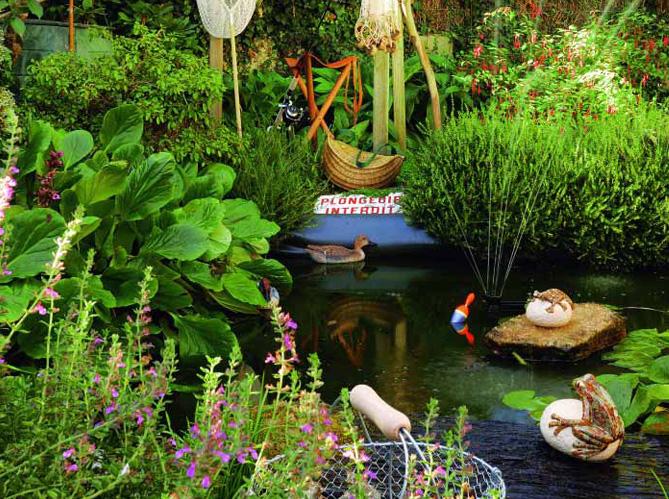 C est un jardin extraordinaire elle d coration for Jardin extraordinaire