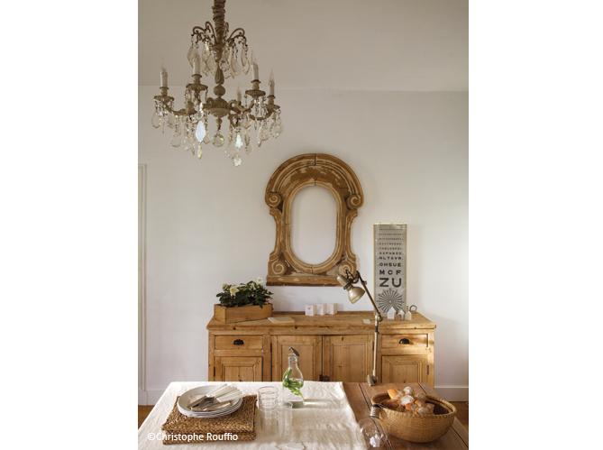 une jolie maison entre esprit campagne et r cup 39 elle d coration. Black Bedroom Furniture Sets. Home Design Ideas