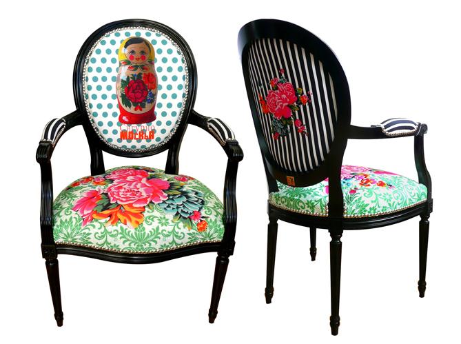 des objets d co au style d cal elle d coration. Black Bedroom Furniture Sets. Home Design Ideas