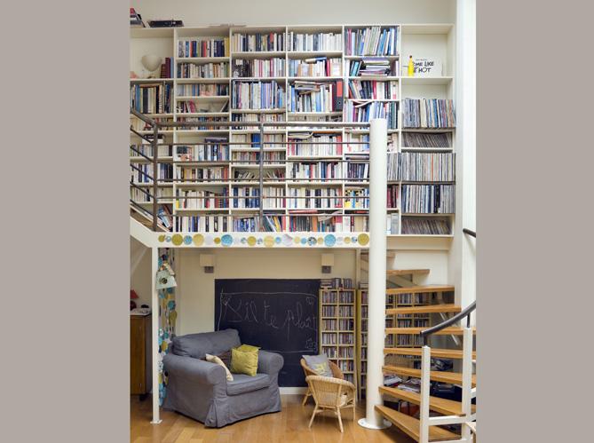envie d une biblioth que sur mesure elle d coration. Black Bedroom Furniture Sets. Home Design Ideas