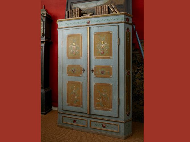 l 39 armoire peinte alsacienne elle d coration. Black Bedroom Furniture Sets. Home Design Ideas