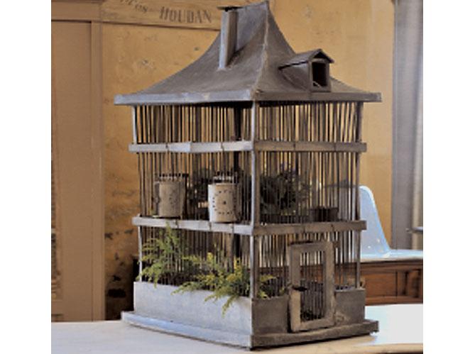 la cage à oiseaux - elle décoration