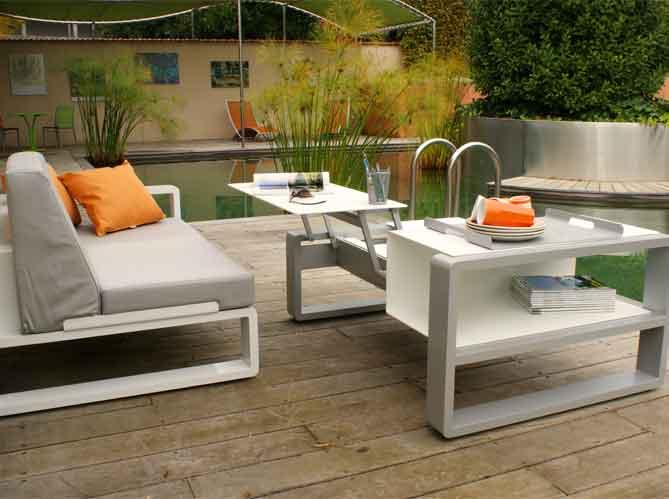 Le jardin fait son salon elle d coration - Meuble de jardin carrefour belgique ...