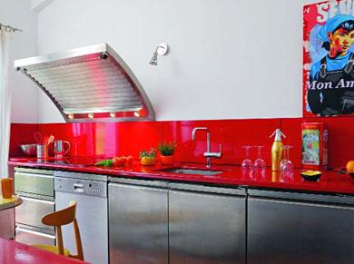 Les mat riaux dans la cuisine elle d coration for Deco cuisine 1970