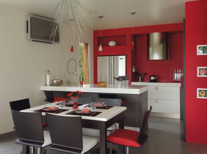 Les nouvelles cuisines vivre elle d coration for Amenagement petite cuisine ouverte sejour