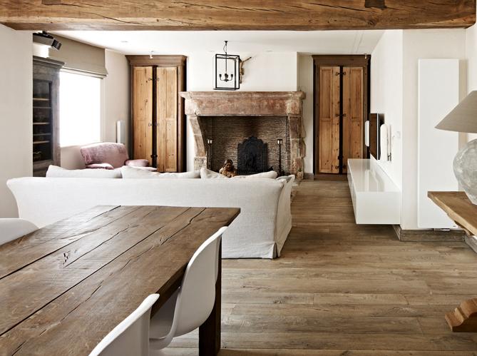 les parquets vieillis on adore elle d coration. Black Bedroom Furniture Sets. Home Design Ideas
