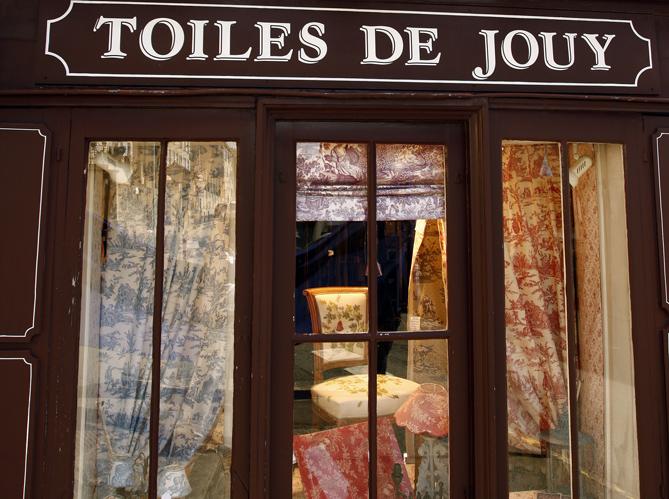 toiles de jouy ouvre une nouvelle boutique elle d coration. Black Bedroom Furniture Sets. Home Design Ideas