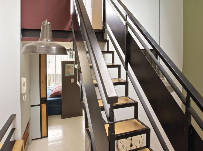 une ancienne usine comme d cor elle d coration. Black Bedroom Furniture Sets. Home Design Ideas