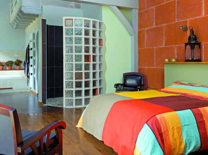 Une chambre avec salle de bains un r ve de bien tre - Chambre avec salle de bain ouverte ...