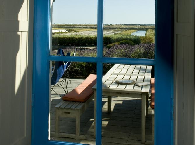 Une maison bleue noirmoutier elle d coration - Sac voile noirmoutier ...